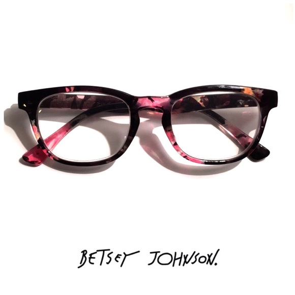 daae6972c50 Betsey Johnson Accessories - Betsy Johnson Floral Reading Glasses